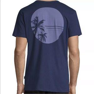 Onia Navy Johnny Tee Sun Palm